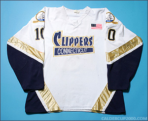 2006-2007 game worn Andrew Horowitz Connecticut Clippers jersey