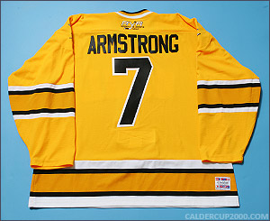 2004-2005 game worn Derek Armstrong OSHL Boston jersey