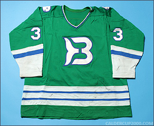 1982-1983 game worn Jeff Brownschidle Binghamton Whalers jersey