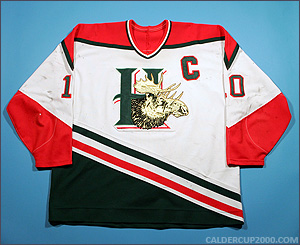 1997-1998 game worn Dean Stock Halifax Mooseheads jersey