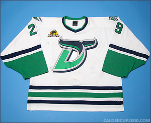 2012-2013 game worn Peter Vetri Danbury Whalers jersey
