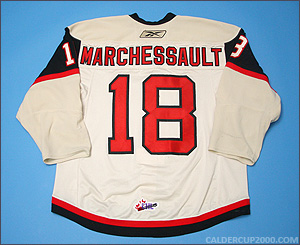 2010-2011 game worn Jonathan Audy-Marchessault Quebec Remparts jersey