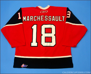 2007-2008 game worn Jonathan Audy-Marchessault Quebec Remparts jersey