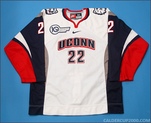 2011-2012 game worn Jenna Welch Uconn Huskies jersey