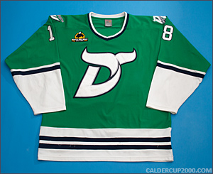 2010-2011 game worn Andrew Willock Danbury Whalers jersey
