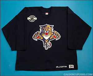 2003-2004 game worn Todd Gill Florida Panthers jersey