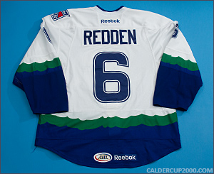 2011-2012 game worn Wade Redden Connecticut Whale jersey