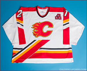 1998-1999 game worn Andrew Cassels Calgary Flames jersey