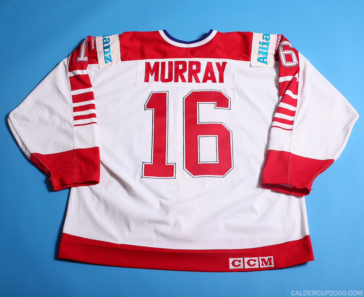 1990 game worn Pat Murray Team Canada jersey