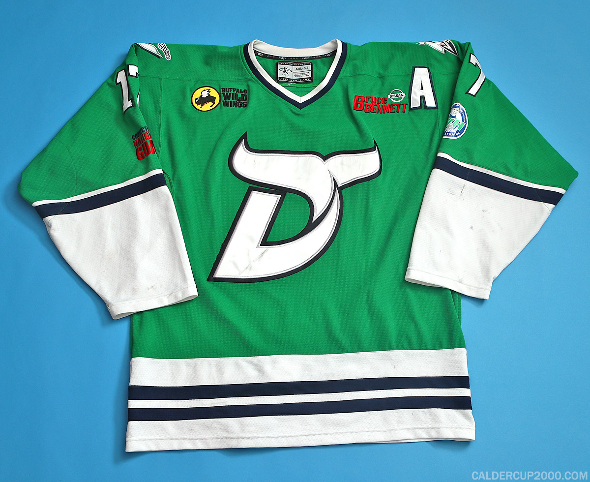 2014-2015 game worn Tim Richter Danbury Whalers jersey